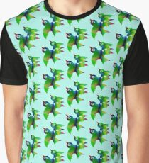 Birds - forest animals, flying, fluttering sky Graphic T-Shirt