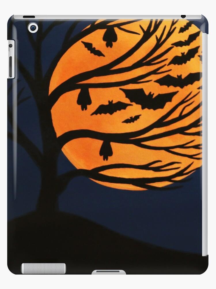 'Spooky Bat Tree' iPad Case/Skin