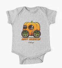 Happy Halloween. Pumpkin car Kids Clothes