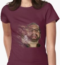 Tim and Eric Clown outlet Women's Fitted T-Shirt