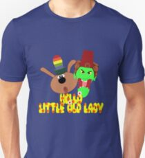 """Chorlton & Kettle Witch-""""Hello, Little Old Lady"""" T-Shirt"""