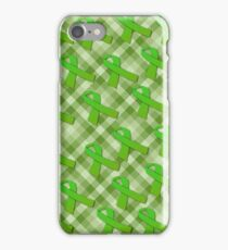 Green Awareness Ribbon iPhone Case/Skin