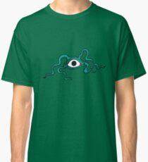 Monster Eye - fun Halloween design by Cecca Designs Classic T-Shirt