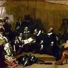Embarkation of the Pilgrims  by Stone Bandana