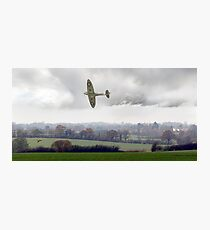 Eagle over England Photographic Print