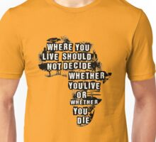 Where You Live - Africa Unisex T-Shirt