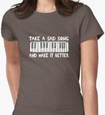 Hey Jude  White Title T-Shirt