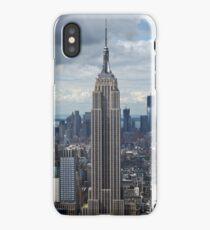 Empire State Building portrait iPhone Case/Skin