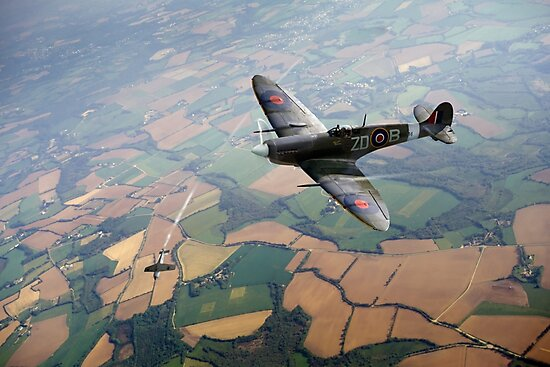 Spitfire victory by Gary Eason