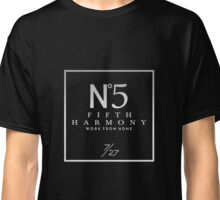 Fifth Harmony Official 7/27 Merch #1 ( White Text ) Classic T-Shirt