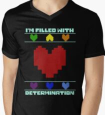 Determination. Men's V-Neck T-Shirt