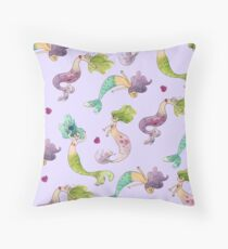 Mermaid Party Throw Pillow
