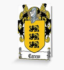 Carew (Carey, Kerry) - Cork Greeting Card