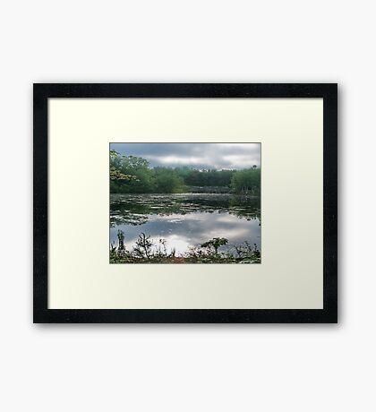 Still Water at Dawn Framed Print