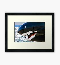 The Military Shark  Framed Print