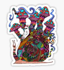 Snail Ride II Sticker