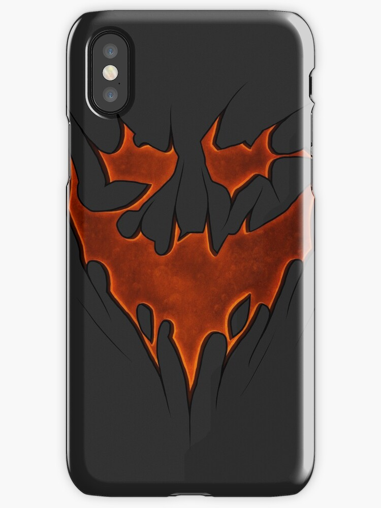 Scarecrow Knightmare Bat Symbol Iphone Cases Covers By Sgtgrinner