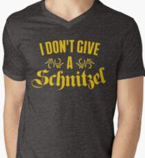 I Don't Give A Schnitzel Men's V-Neck T-Shirt