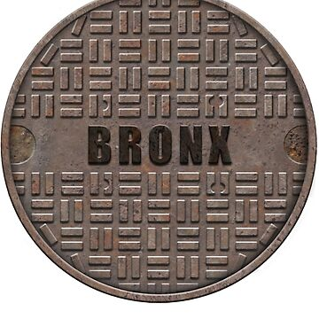 NYC Manhole Lid: Bronx by A-Game