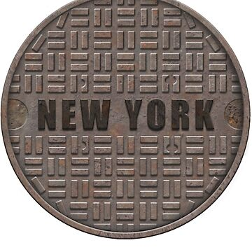 NYC Manhole LId: New York by A-Game