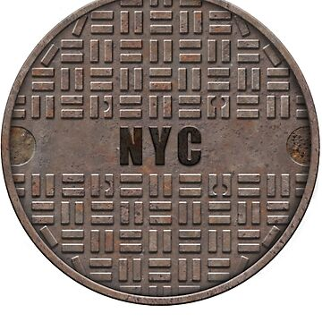 NYC Manhole Lid: NYC by A-Game