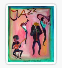 Jazz band por Diego Manuel  Sticker
