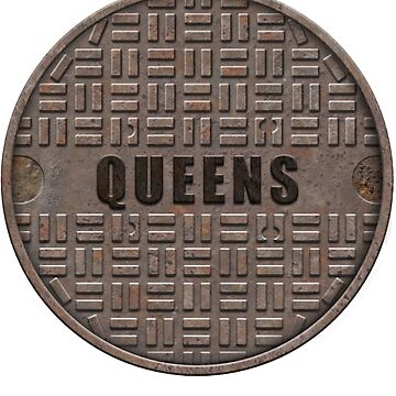NYC Manhole Lid: Queens by A-Game