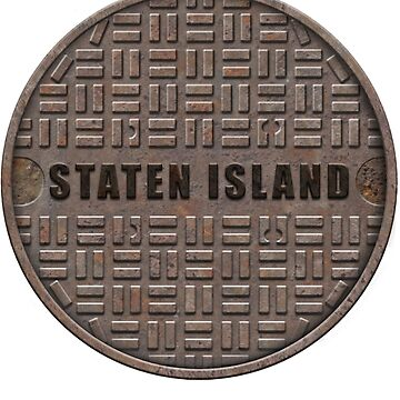 NYC Manhole Lid: Staten Island by A-Game