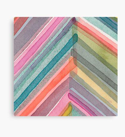 Pivot in Warm Prism Canvas Print