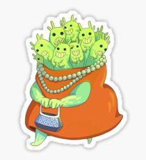Undercover Monster Sticker