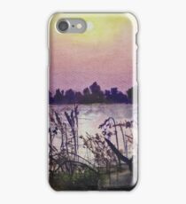 Sukhna Lake through a Writer's Lens iPhone Case/Skin