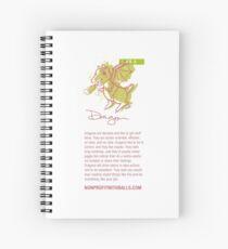 I AM DRAGON! (vertical) Spiral Notebook