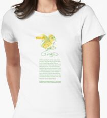 I AM A GRIFFIN! (vertical) Womens Fitted T-Shirt