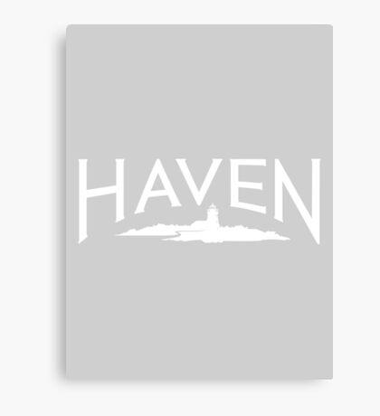 Haven Maine Syfy Logo Canvas Print