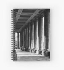 Portico At Greenwich Spiral Notebook
