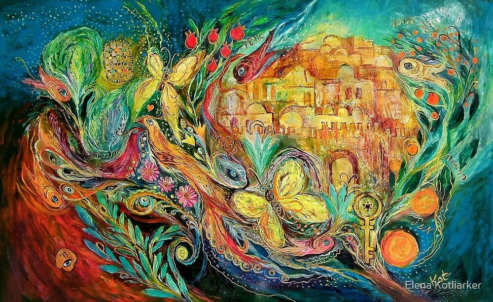 The Jerusalem Key by Elena Kotliarker
