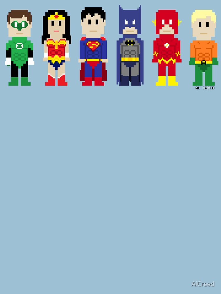 8-Bit Super Heroes 3: The Other Guys by AlCreed