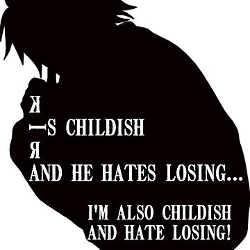 Death Note - L quote  by BDEdits