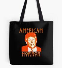 Donald Trump American Horror Tote Bag