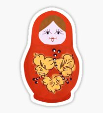 Babooshka Sticker