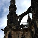 Detail of the Monument to Sir Walter Scott, Edinburgh by Agnes McGuinness