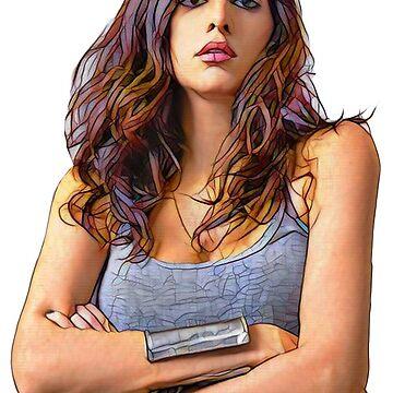 Yasmine Hamdan by WaveSunk