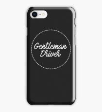 Gentleman Driver Gadgets iPhone Case/Skin