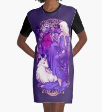 Am I Truly the Last Graphic T-Shirt Dress
