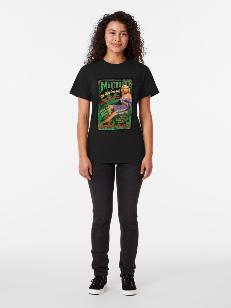 Alternate view of Plant From Hell! Classic T-Shirt