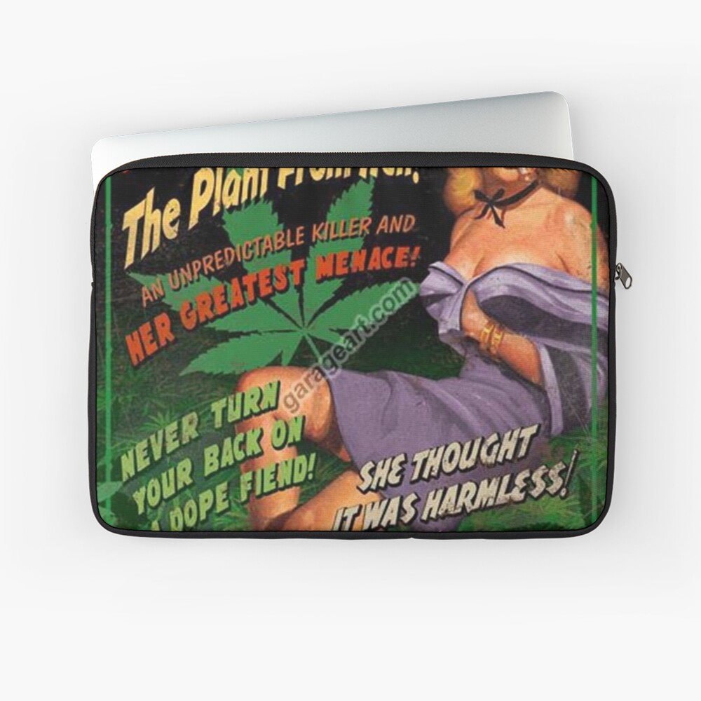 Plant From Hell! Laptop Sleeve
