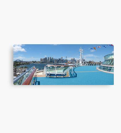 Sydney panorama Canvas Print