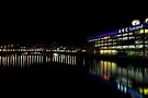 The Colourful Clyde at Night by Kasia-D