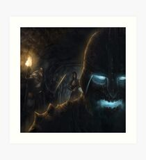 Draugr in the dungeons Art Print