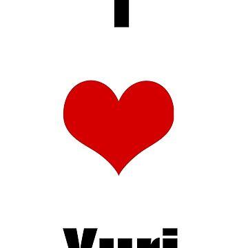 I love Yuri by DiamondCrusade
